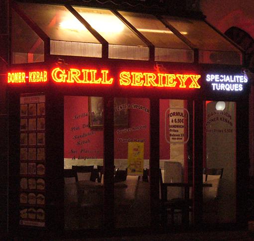 Un grill BBQ de l'est parisien...